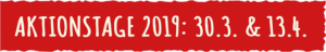 Zamm geht's Aktionstag-2019