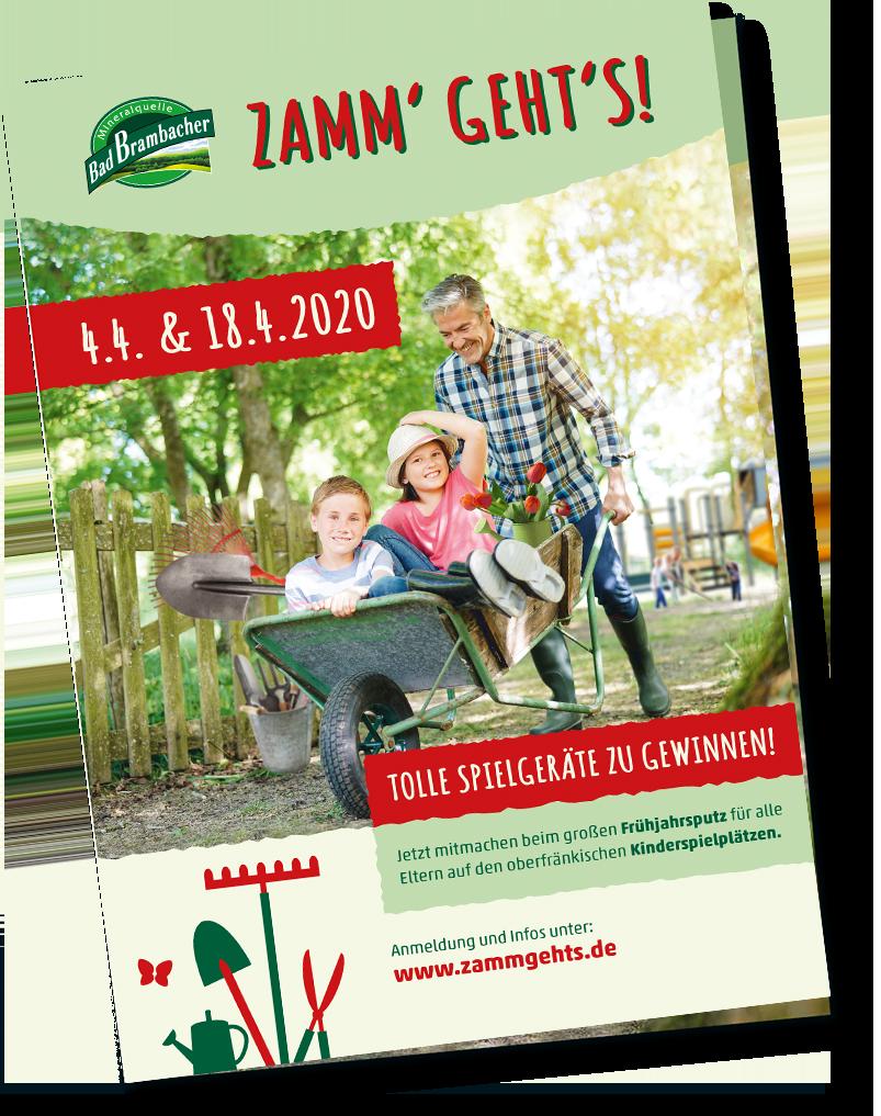 Zamm' Geht's 2020 - Folder