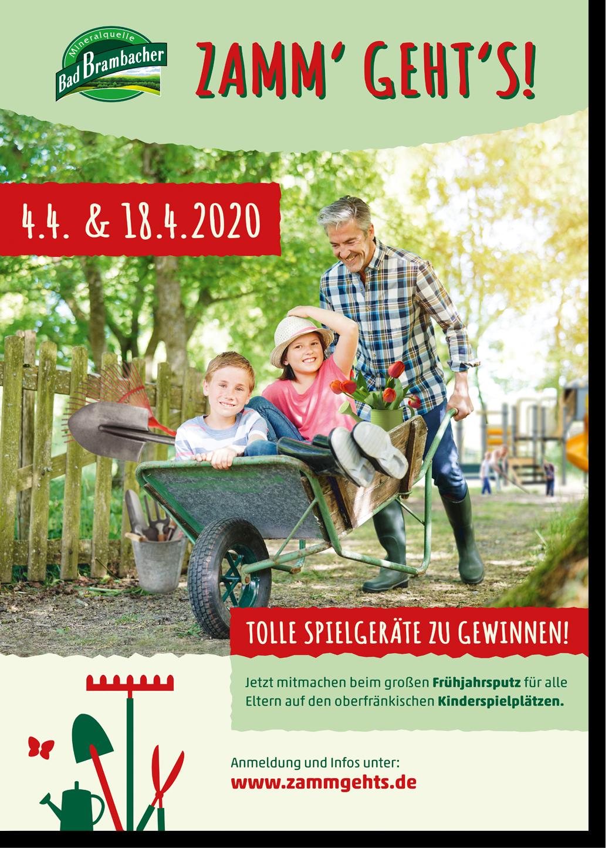 Zamm' Geht's 2020 - Plakat
